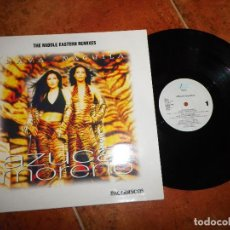 Discos de vinilo: AZUCAR MORENO HAVA-NAGUILA THE MIDDLE EASTERN REMIXES MAXI SINGLE DE VINILO PROMO 1997 4 TEMAS. Lote 155928990