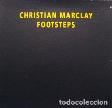CHRISTIAN MARCLAY - FOOSTEPS - REC REC MUSIC -REC REC 26 LC 7981 SÓLO 1000 COPIAS EDITADAS. (Música - Discos - LP Vinilo - Electrónica, Avantgarde y Experimental)