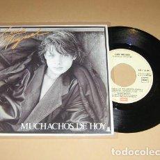 Discos de vinilo: LUIS MIGUEL - MUCHACHOS DE HOY - SINGLE - 1985. Lote 113720571