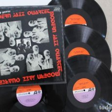 Discos de vinilo: THE MODERN JAZZ QUARTET THE EARLY YEARS BOX CAJA 4LPS VINYL MADE IN SPAIN 1977. Lote 113747387