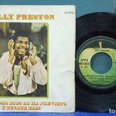 Discos de vinilo: BILLY PRESTON. APPLE RECORDS 1969. REF. H 495. SINGLE. Lote 113787991