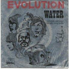 Discos de vinilo: EVOLUTION - WATER + 1 (45 RPM) DIMENSION 1970 - PROMO!! - VG++/VG++. Lote 113794715