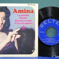 Discos de vinilo: AMINA. HISPAVOX 1965, REF. HH 16-555. EP. Lote 113799591