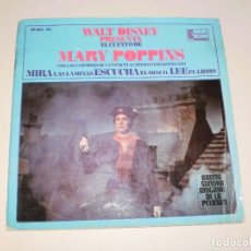 Vinyl-Schallplatten - Single. mary poppins. walt disney. disco cuento. 1967 Spain (probado y bien) - 113811503