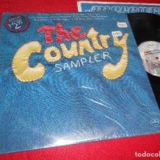 Discos de vinilo: THE COUNTRY SAMPLER LP 1976 MERCURY EDICION AMERICANA USA RECOPILATORIO JACKY WARD+NICK NIXON+ETC. Lote 113823835