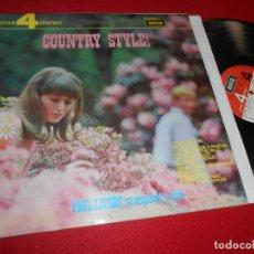 Discos de vinilo: PAUL LIVERT SU ORQUESTA Y CORO COUNTRY STYLE! LP 1969 DECCA EDICION ESPAÑOLA SPAIN. Lote 113826771