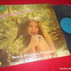 Discos de vinilo: RAMON BIERMANN,TROMPETA Y LA ORQ. DE PERCUSION DE MILAN DEDICADO A TI... LP 1972 ZAFIRO ESPAÑA SPAIN. Lote 113826895