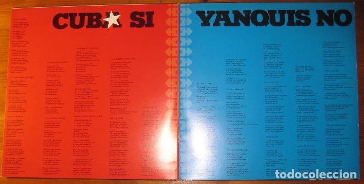 Discos de vinilo: Carlos Puebla Y Los Tradicionales - Cuba Sí Yanquis No (2xLP) - Foto 3 - 113828059