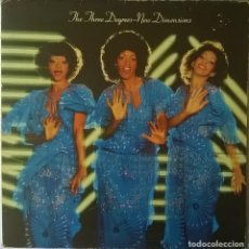 Dischi in vinile: THE THREE DEGREES-NEW DIMENSIONS, ARIOLA-I-200.002. Lote 113834047