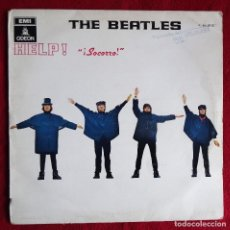 Discos de vinilo: THE BEATLES HELP - SOCORRO LP ODEON EMI 10 C 064-004257. Lote 113835619