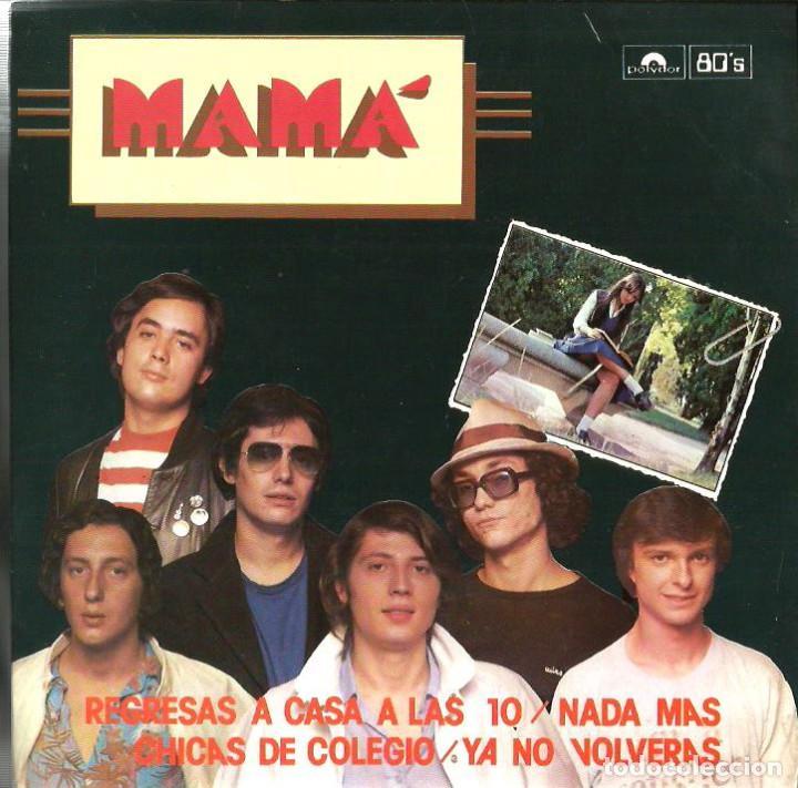 EP MAMA ( EDICION ESPECIAL LIMITADA Y NUMERADA ) : REGRESAS A CASA A LAS 10 + 3 (Música - Discos de Vinilo - EPs - Grupos Españoles de los 70 y 80)