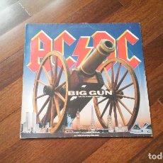 Discos de vinilo: AC DC -BIG GUN + 2 TEMAS.MAXI. Lote 113844407