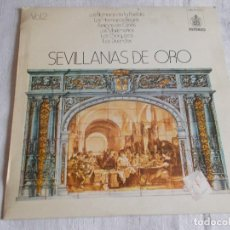 Discos de vinilo: SEVILLANAS DE ORO VOL. 1-2 . Lote 113846275