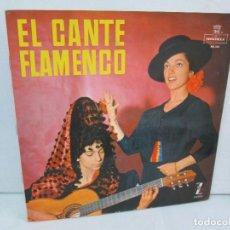 Discos de vinilo: EL CANTE FLAMENCO. LP VINILO. MONTILLA. 1962. VER FOTOGRAFIAS ADJUNTAS. Lote 113858523