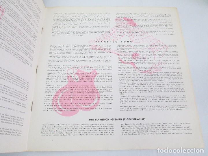Discos de vinilo: EL CANTE FLAMENCO. LP VINILO. MONTILLA. 1962. VER FOTOGRAFIAS ADJUNTAS - Foto 4 - 113858523