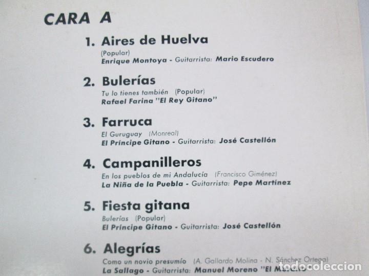 Discos de vinilo: EL CANTE FLAMENCO. LP VINILO. MONTILLA. 1962. VER FOTOGRAFIAS ADJUNTAS - Foto 5 - 113858523