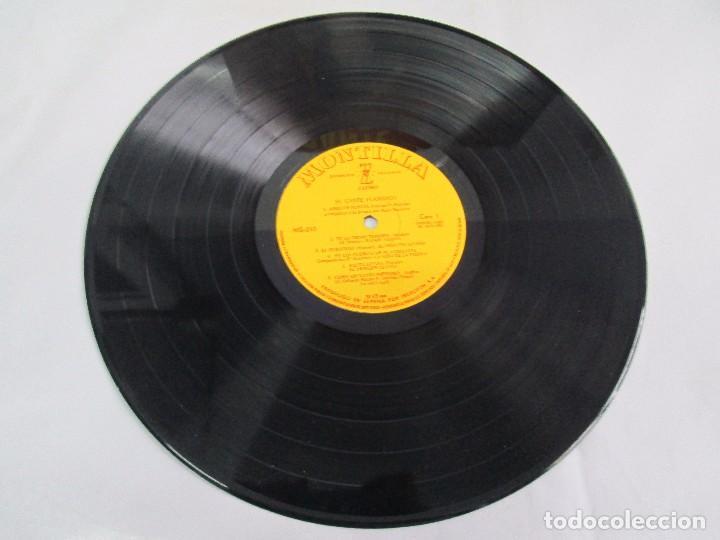 Discos de vinilo: EL CANTE FLAMENCO. LP VINILO. MONTILLA. 1962. VER FOTOGRAFIAS ADJUNTAS - Foto 7 - 113858523