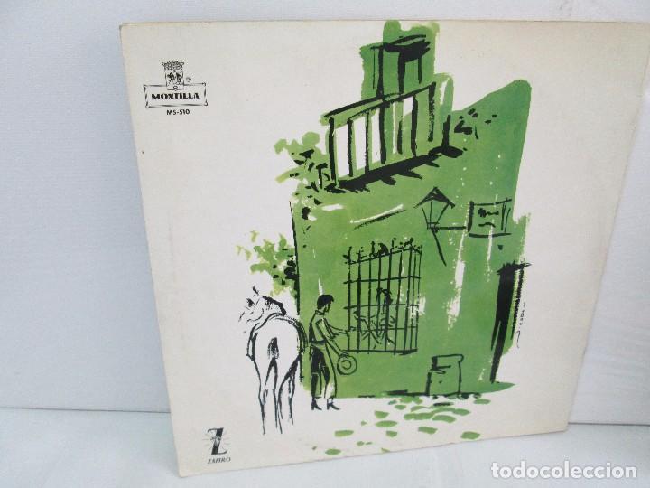 Discos de vinilo: EL CANTE FLAMENCO. LP VINILO. MONTILLA. 1962. VER FOTOGRAFIAS ADJUNTAS - Foto 12 - 113858523