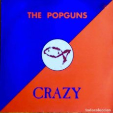 Discos de vinilo: THE POPGUNS. CRAZY. MAXI SINGLE UK 3 TEMAS.. Lote 113860535