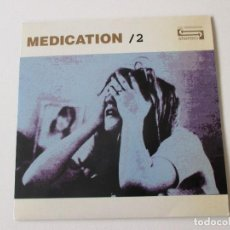Discos de vinilo: MEDICATION /2 CAN´T SEEM TO REMEMBER/ TIME ACUARELA 1994 INDIE COMO NUEVO. Lote 113861679