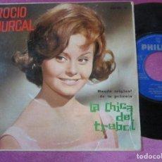 Discos de vinilo: ROCIO DURCAL - LA CHICA DEL TREBOL B.S.O. - EP. Lote 113895463