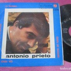 Discos de vinilo: ANTONIO PRIETO - LA MAMMA / CADA VEZ / MOTIVO DE AMOR / UNA LAGRIMA EN TU ROSTRO EP 1964. Lote 113896343