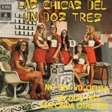 Discos de vinilo - LAS CHICAS DEL UN, DOS, TRES, SG, NO SEA USTED CICUTA + 1, AÑO 1972 - 113898083