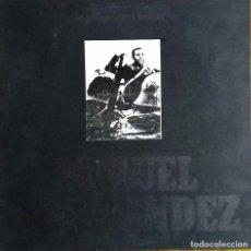 Discos de vinilo: JOAN MANUEL SERRAT, MIGUEL HERNÁNDEZ. LP ORIGINAL CON PORTADA DOBLE O ABIERTA. Lote 113933683