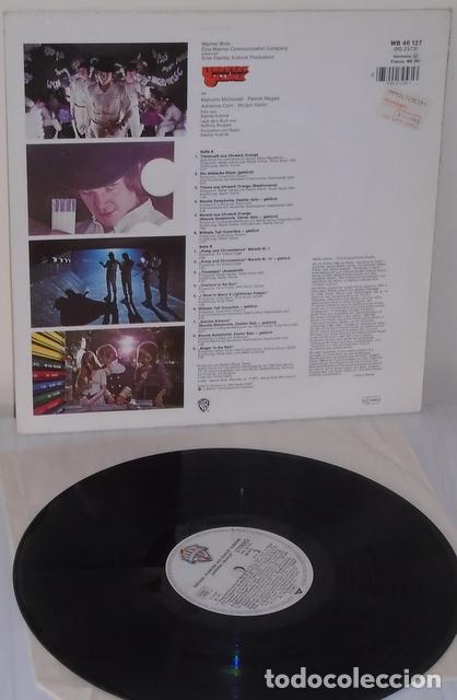 Discos de vinilo: LA NARANJA MECANICA - UHRWERK ORANGE EDIC. ALEMANA -W B - 1972 - Foto 2 - 113938947