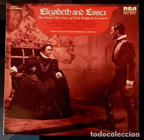 ELISABETH AND ESSEX - KORNGOLD - RCA UK - 1974 (Música - Discos - LP Vinilo - Clásica, Ópera, Zarzuela y Marchas)