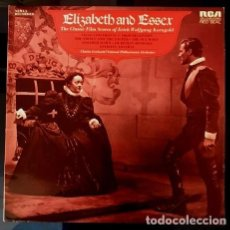 Discos de vinilo: ELISABETH AND ESSEX - KORNGOLD - RCA UK - 1974. Lote 113940875