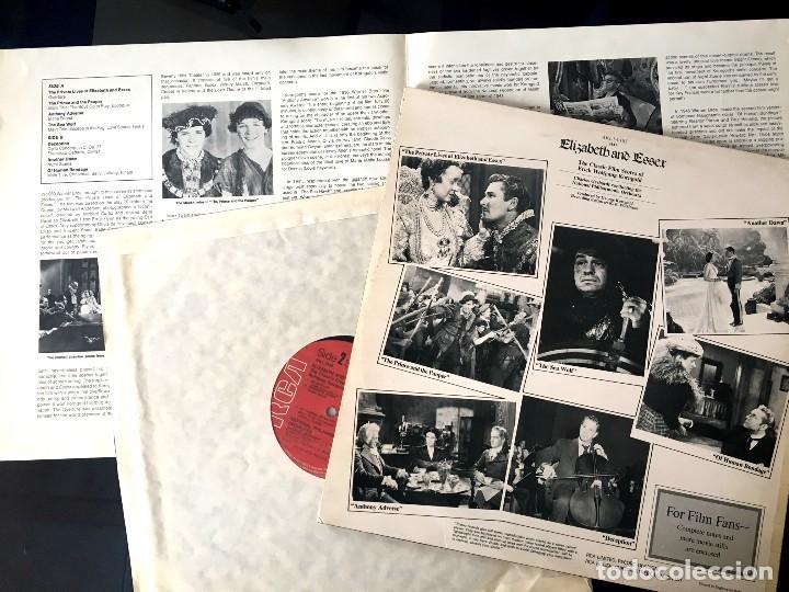 Discos de vinilo: ELISABETH AND ESSEX - KORNGOLD - RCA UK - 1974 - Foto 2 - 113940875