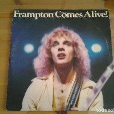 Discos de vinilo: PETER FRAMPTON -COMES ALIVE! -DOBLE LP AM RECORDS 1976 ED. AMERICANA GATEFOLD. Lote 113945547