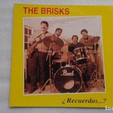 Discos de vinilo: THE BRISKS - ¿ RECUERDAS ? LP 1994 HISTORIA DE LA MUSICA POP ESPAÑOLA Nº 225. Lote 113953047