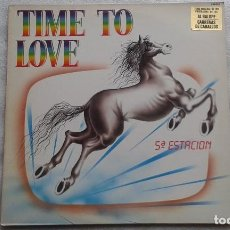 Discos de vinilo: 5ª ESTACION - TIME TO LOVE LP 1984 SYNTHPOP. Lote 113959287