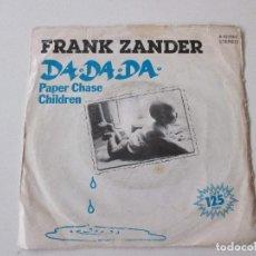 Discos de vinilo: FRANK ZANDER DA DA DA +1 ARIOLA 1982. Lote 113964711