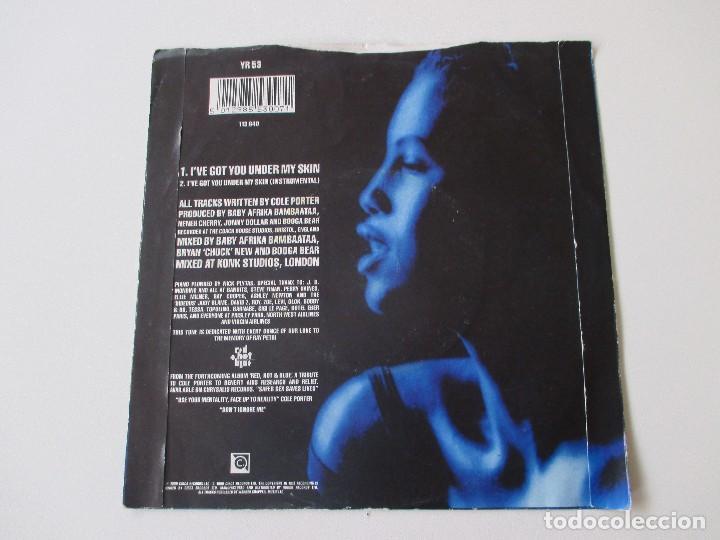 Discos de vinilo: Neneh Cherry I´ve got you under my skin +1 CIRCA 1990 - Foto 2 - 113965075