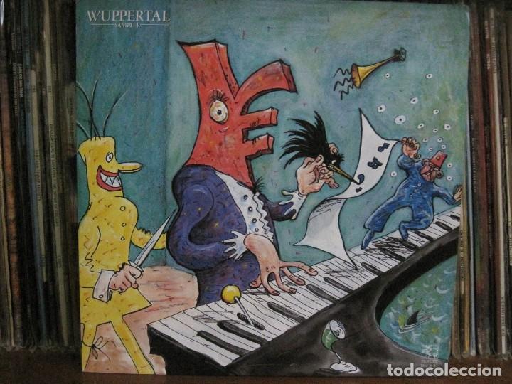 WUPPERTAL SAMPLER – VARIOS ARTISTAS SELLO PIGTURE '87 CON LIBRO COMPLETO Y 2 POSTALES.COMO NUEVO. (Música - Discos - LP Vinilo - Electrónica, Avantgarde y Experimental)