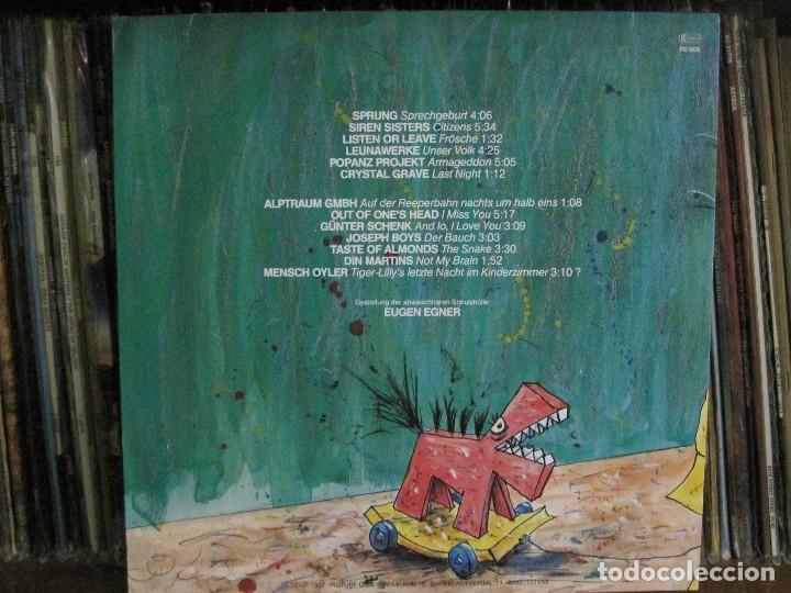 Discos de vinilo: Wuppertal Sampler – Varios Artistas Sello Pigture '87 con libro COMPLETO Y 2 POSTALES.COMO NUEVO. - Foto 2 - 113967615
