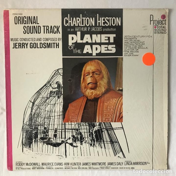 1968 US_ BUEN ESTADO _JERRY GOLDSMITH/PLANET OF THE APES (Música - Discos - LP Vinilo - Bandas Sonoras y Música de Actores )