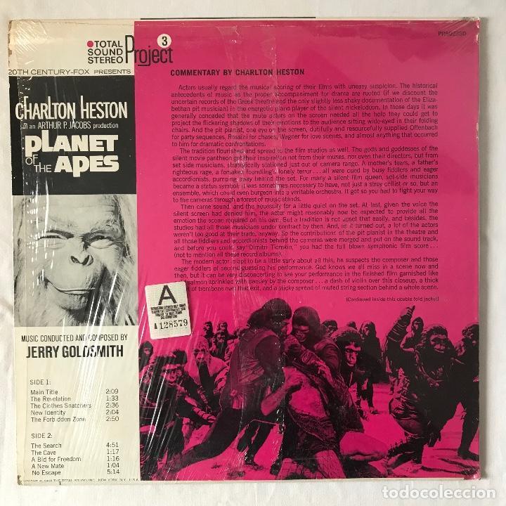 Discos de vinilo: 1968 US_ BUEN ESTADO _Jerry Goldsmith/Planet Of The Apes - Foto 2 - 113971143