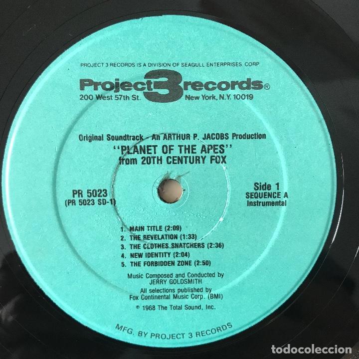 Discos de vinilo: 1968 US_ BUEN ESTADO _Jerry Goldsmith/Planet Of The Apes - Foto 4 - 113971143