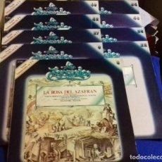 Discos de vinilo: LOTE DISCOS ZARZUELA. 9 UNIDADES. PERTENECEN A UNA COLECCIÓN.. Lote 113974095