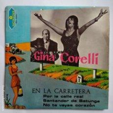 Discos de vinilo: GINA CORELLI - EN LA CARRETERA. Lote 113977839