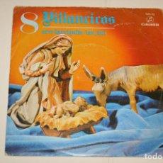 Discos de vinilo: VILLANCICOS Nº 8 (ARRE BORRIQUITO + FUN FUN) *** SINGLE VINILO (1970) *** COLUMBIA ***. Lote 113984963