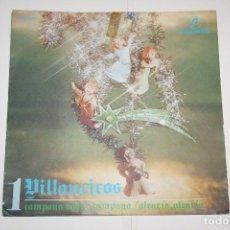 Discos de vinilo: VILLANCICOS Nº 1 (CAMPANA SOBRE CAMPANA + ALEGRÍA) *** SINGLE VINILO (1969) *** COLUMBIA *** . Lote 113987583