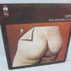Discos de vinilo: BABEL. LUIS EDUARDO AUTE. LP VINILO. ARIOLA 1976. VER FOTOGRAFIAS ADJUNTAS. Lote 113988687
