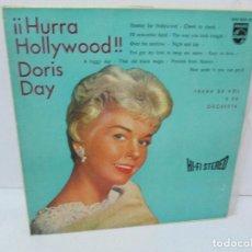 Discos de vinilo: HURRA HOLLYWOOD. DORIS DAY. LP VINILO PHILIPS 1960. VER FOTOGRAFIAS ADJUNTAS. Lote 113989423
