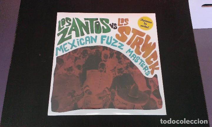 LP LOS ZANTOS VS LOS STRWCK MEXICAN FUZZ MASTERS GARAGE ROCK MEXICO 60'S (Música - Discos - LP Vinilo - Grupos y Solistas de latinoamérica)