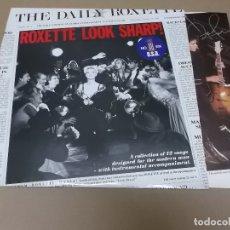 Discos de vinilo: ROXETTE (LP) LOOK SHARP AÑO 1989 - ENCARTE INTERIOR CON LETRAS. Lote 129320976